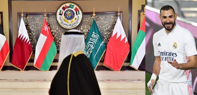 بكلمة واحدة.. بنزيما يعلق على المصالحة الخليجية!