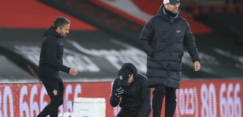 خسارة مريرة لـ'ليفربول' في الدوري.. ومدرّب 'ساوثهامبتون' لم يتمالك دموعه! (فيديو)