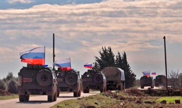 جرحى جراء انفجار آلية مفخخة عند القاعدة الروسية في تل السمن