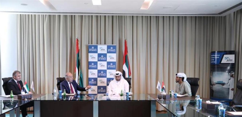 دبوسي بحث مع ممثلي موانئ دبي في دور المنظومة الاقتصادية الوطنية