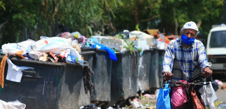 عادت إلى الشوارع: 'زبالة كورونا' تفاقم أزمة النفايات
