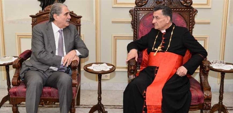 زيارة جريصاتي إلى بكركي لم تُحقّق أي خرق… والعين على عودة الحريري