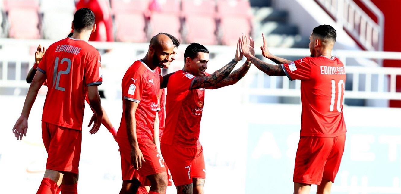'الدحيل' يسحق 'الوكرة' بـ 8 أهداف في الدوري القطري! (فيديو)