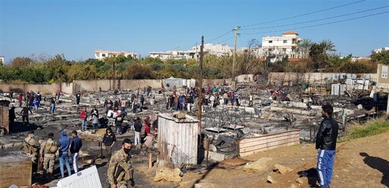 حادثة حرق المخيّم جرس إنذار