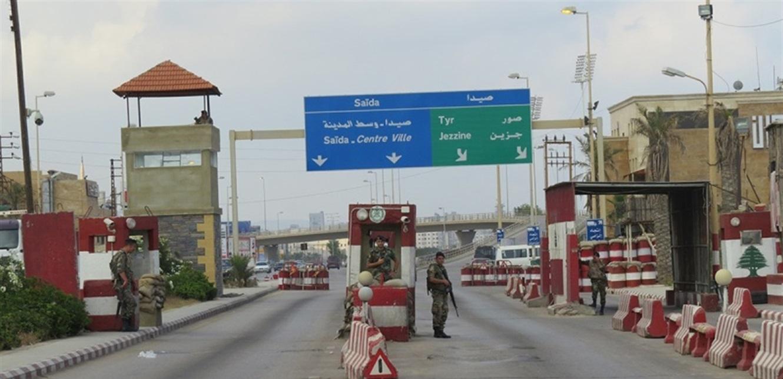 قوى الأمن تكثف إجراءاتها في صيدا و129 محضرا حصيلة اليوم الأول