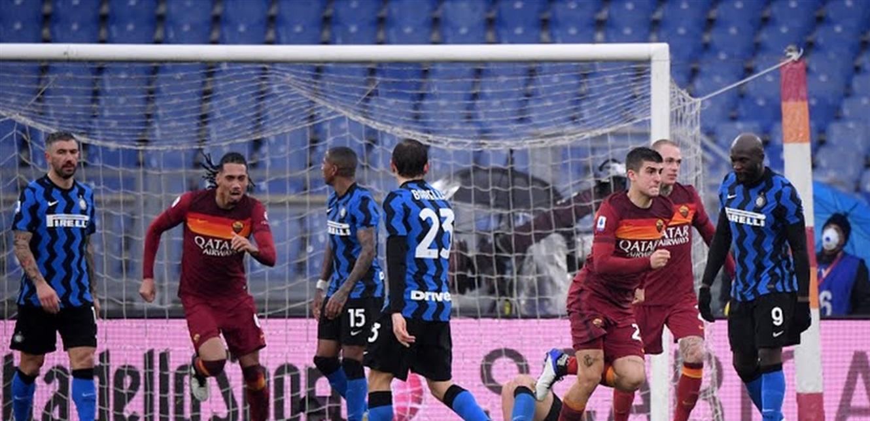 'روما' ينتزع التعادل من 'إنتر ميلان' في الدوري الإيطالي! (فيديو)