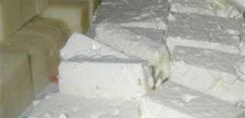 ضبط كميات منتهية الصلاحية من الجبنة في البقاع