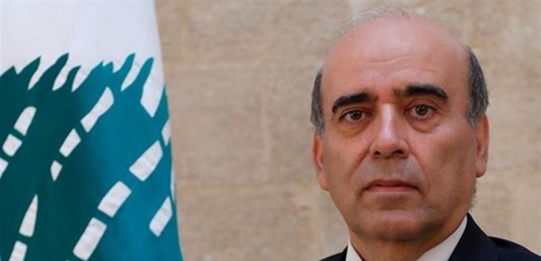 وهبة بحث ووفد مجلس الشيوخ الفرنسي السبل لمساعدة المجلس لبنان