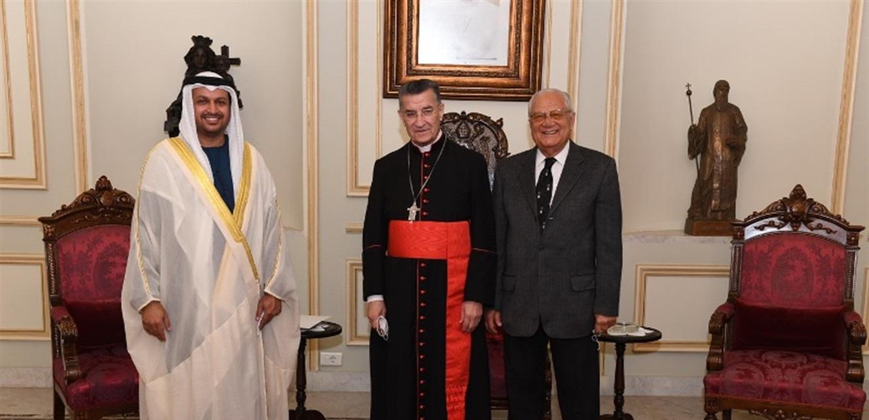 الراعي استقبل الشامسي مودعا والسفير الجديد لتونس وشخصيات