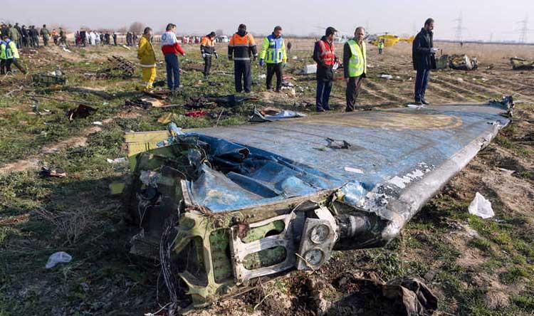إيران تتهرب من محاسبة مسؤولي إسقاط الطائرة الأوكرانية
