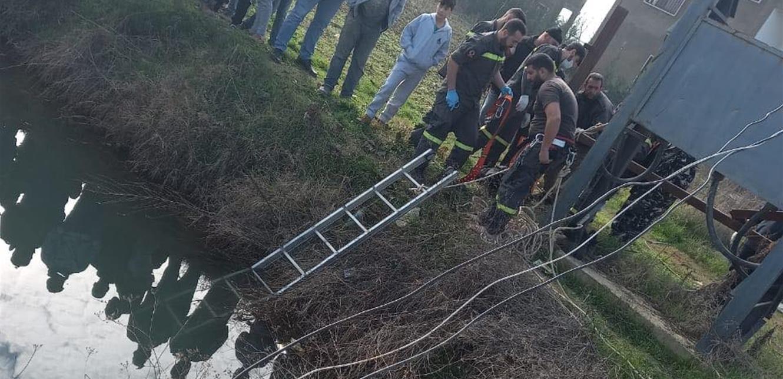 سحب جثّة رجل من خندق زراعي في المنصورة – البقاع الغربي