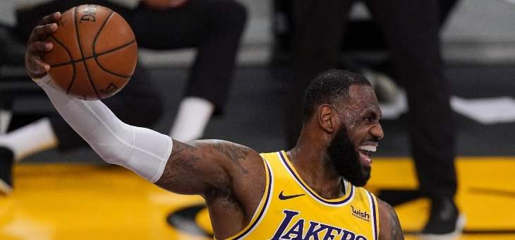 NBA: الليكرز احتاج لوقت اضافي واحد للتفوق على اوكلاهوما
