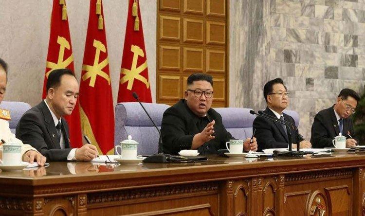 كيم جونغ أون يوبخ حكومته