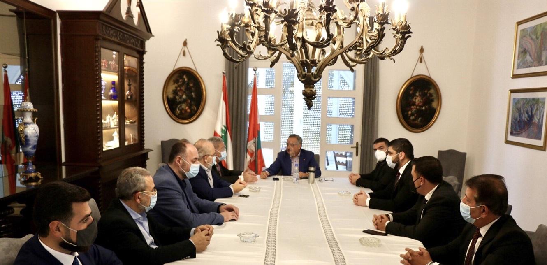الديمقراطي اللبناني يدعو الى تفعيل التدقيق الجنائي