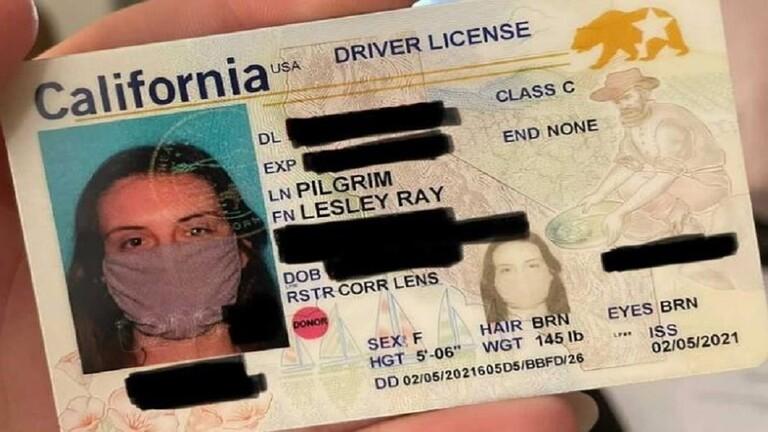 للمرة الأولى بتاريخ البلاد.. صورة رخصة القيادة مع كمامة!