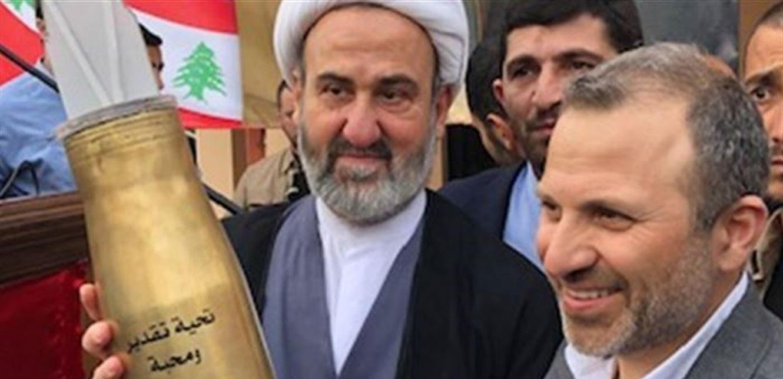 باسيل سلم 'حزب الله' 3 اشياء؟