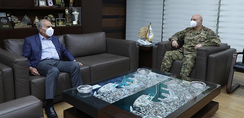 قائد الجيش بحث مع رحمة في أوضاع البقاع وبعلبك الهرمل