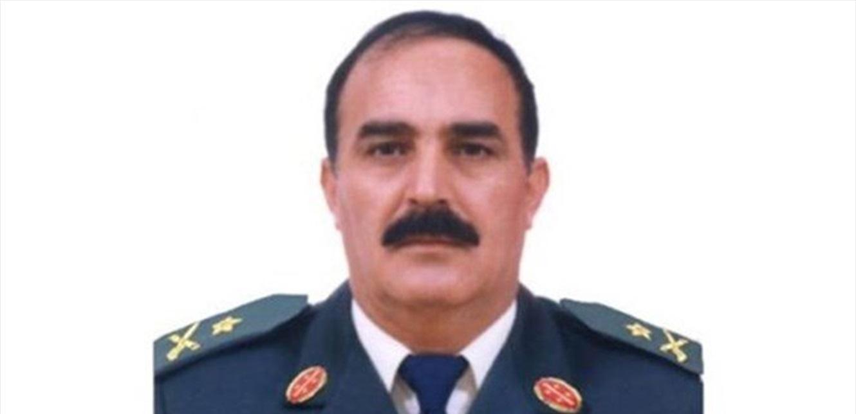 قيادة الجيش نعت العميد الركن المتقاعد صالح طليس