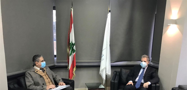 وزني بحث مع رئيس الجامعة اللبنانية المحافظة على موازنة الجامعة وحقوق أساتذتها