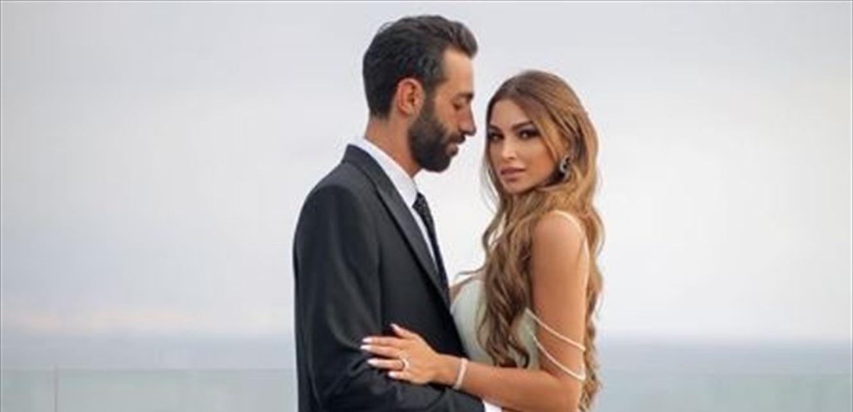 نجل زين الاتات يحتفل بعيد ميلاد خطيبته الممثلة.. قالب حلوى مميّز ولقطة رومانسية (فيديو وصور)