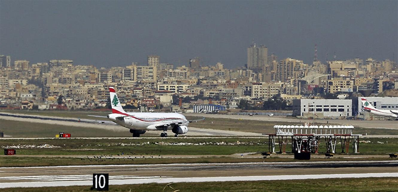 وصول اجهزة طبية إلى مطار بيروت مقدمة من الجالية اللبنانية في السعودية