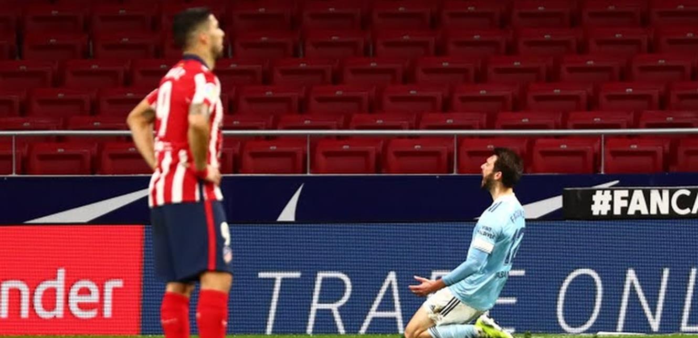 'سيلتا فيغو' يفرض التعادل على 'أتلتيكو' في الدوري الإسباني (فيديو)