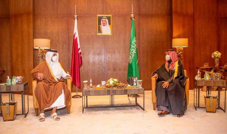 لأول مرة منذ 2017… لقاء دبلوماسي قطري سعودي في الدوحة