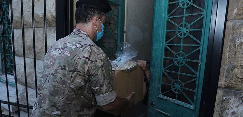 الجيش: توزيع تعويضات على المواطنين المتضررين جراء انفجار مرفأ بيروت