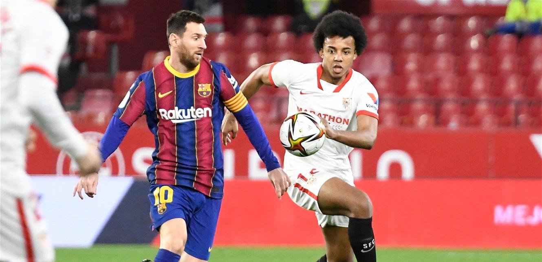 بثنائية أمام 'برشلونة'.. 'إشبيلية' يضع قدماً في نهائي كأس الملك!