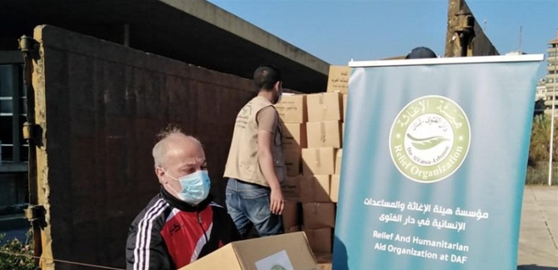 هيئة الإغاثة في دار الفتوى وزعت حصصا غذائية في طرابلس