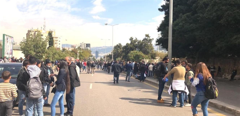 اعتصام  للمطالبة باطلاق موقوفي طرابلس