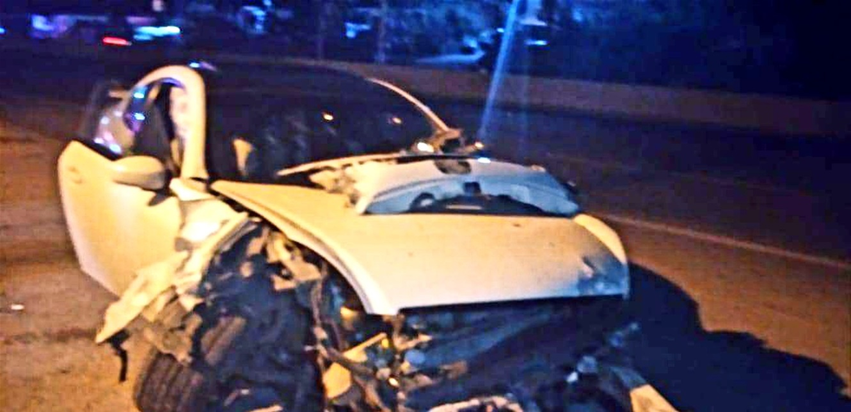 جريح إثر حادث سير على المسلك الغربي لأوتوستراد البوار