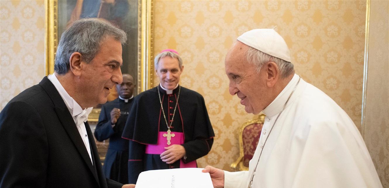 الخازن: الفاتيكان يدعم أي مبادرة تساهم في انتشال لبنان من أزماته