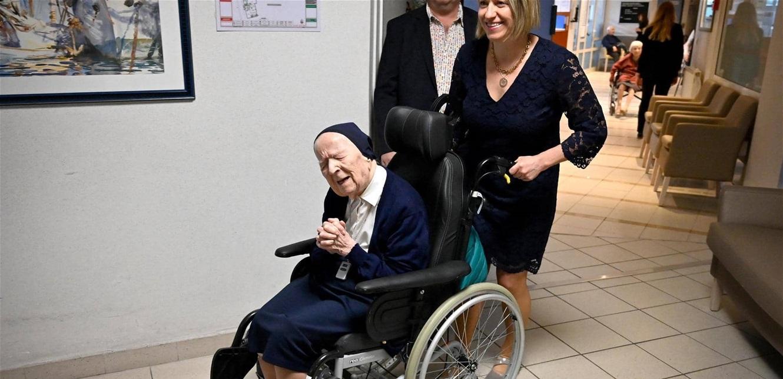 آندريه ابنة الـ 117 عاما تعافت من كورونا.. وستحتفل بعيدها