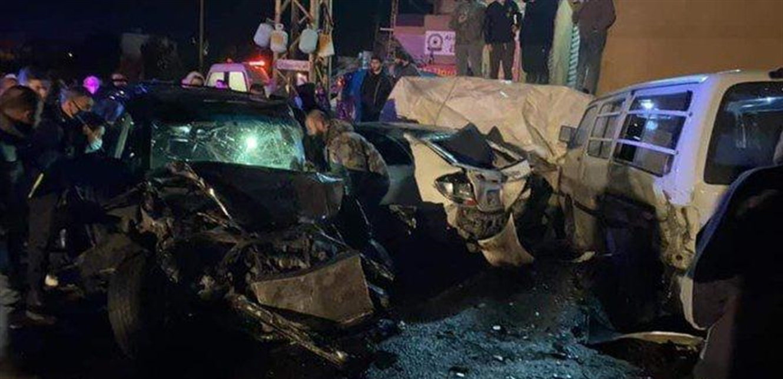 حادث مروع.. مطاردة تنهي حياة ابنة الـ9 سنوات على طريق دير الزهراني (فيديو)