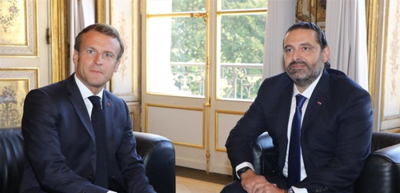 فرنسا على موقفها الداعم للحريري