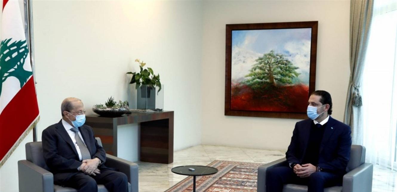 لقاء متوتّر بين عون والحريري بعد فترة انقطاع لم يسفر عن اختراق