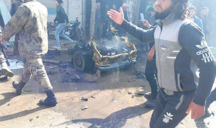 قتلى وجرحى بانفجار سيارة مفخخة في ريف حلب