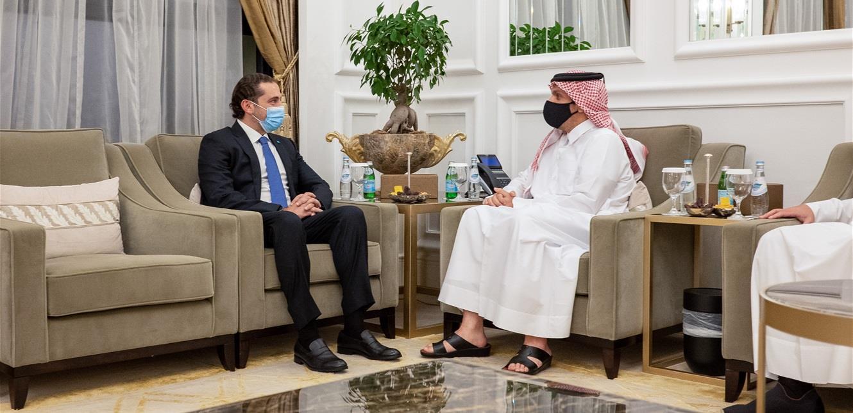 المكتب الإعلامي للحريري نقلاً عن الوكالة القطرية: الدوحة تدعم الأشقاء في لبنان