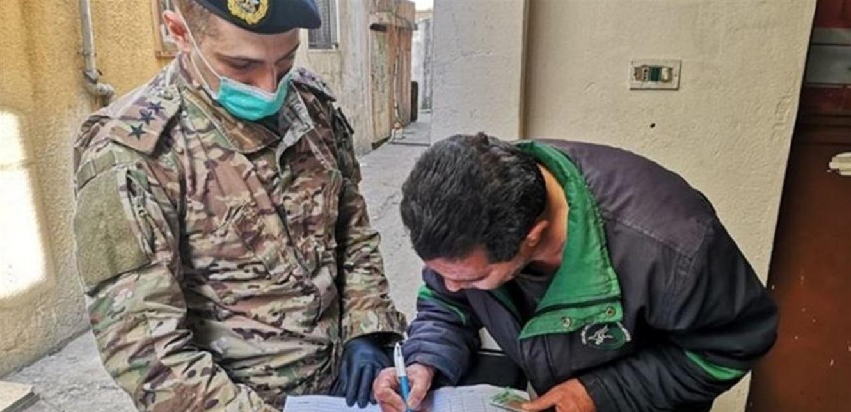 توزيع تعويضات على المواطنين المتضررين جراء انفجار مرفأ بيروت