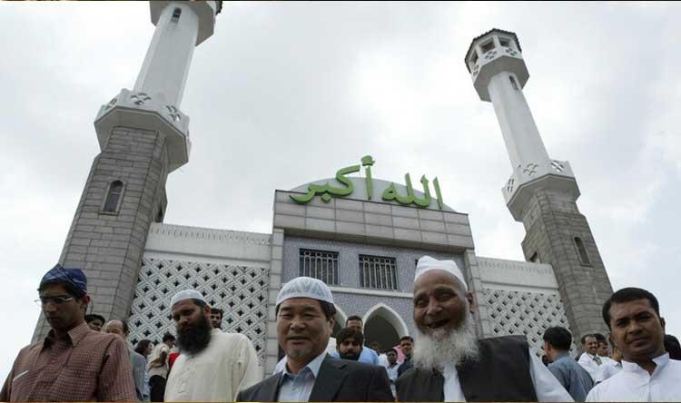 إغلاق جميع المساجد في كوريا الجنوبية