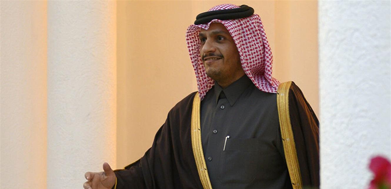 وزير خارجية قطر يحمل مبادرة 'حوار لبناني' في الدوحة