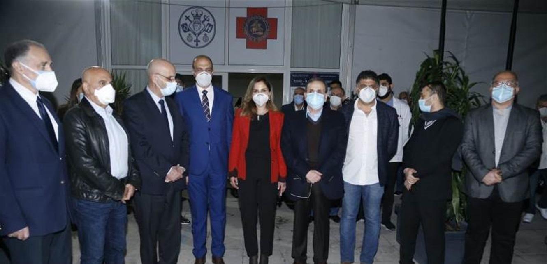 الوزيران حسن وعبد الصمد افتتحا الجولة على مراكز التلقيح بزيارة مستشفى الروم