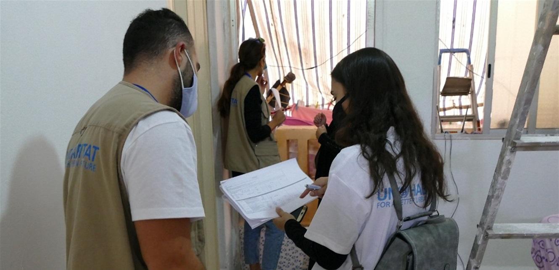 تأهيل 100 وحدة سكنية متضررة في برج حمود بانفجار بيروت