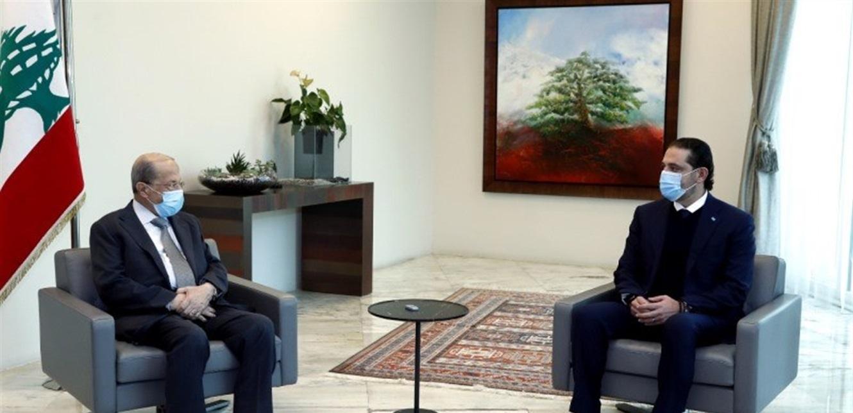 بعد قطيعة الحريري في بعبدا: لا تقدّم حكومياً وثابت على موقفي بحكومة من 18 وزيراً جميعهم اختصاصيين