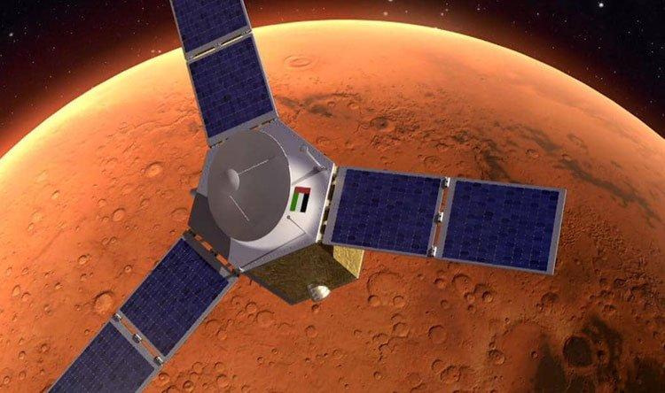 """""""مسبار الأمل"""" الإماراتي يصل المريخ"""