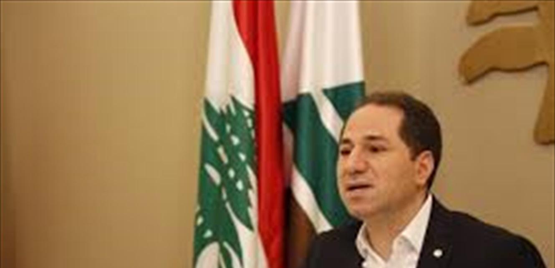 الجميّل: الامن الداخلي يستمر بعمله لحماية شباب لبنان