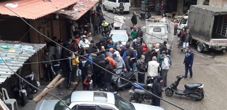 إإصابة شخص بإطلاق نار في سوق الخضار – طرابلس