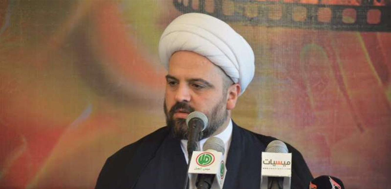 المفتي قبلان: الحل يبدأ بحكومة إنقاذ سياسية بامتياز