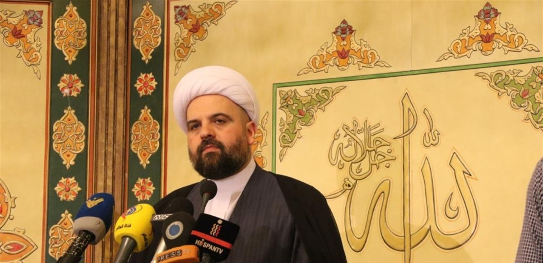 أحمد قبلان رحب بزيارة البابا إلى العراق: لتعزيز الشراكة بين الإسلام والمسيحية